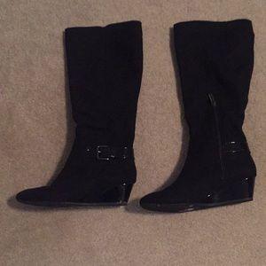 Bandolino wedge boots